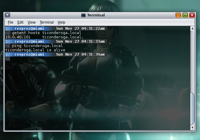 Prez Cannady - Configuring mDNS for Solaris